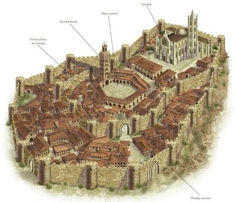 Las ciudades medievales en Kalipedia.com | mis cosas de soci | Scoop.it