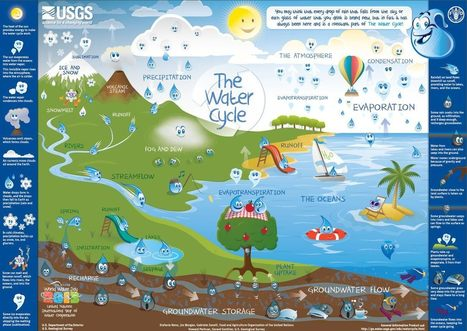 The Water Cycle for Kids | Geography Middle School | Scoop.it