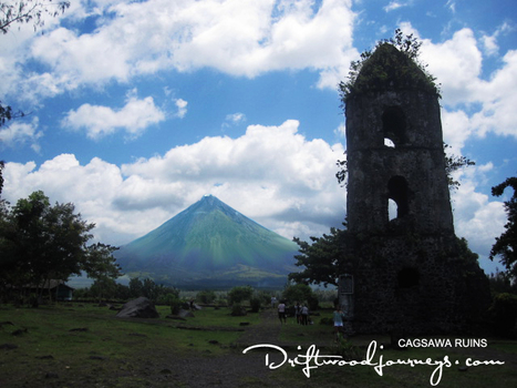Cagsawa Ruins Park – Albay Philippines | Philippine Travel | Scoop.it