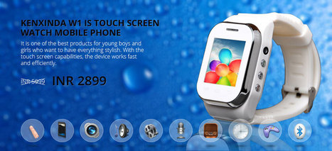 Watch Mobile, Touch Screen Wrist Watch Mobile Phone | Watch Mobile | Scoop.it