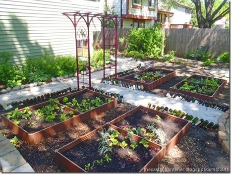 How To Grow A Vegetable Garden In Shade – The Story Of a French Potager Kitchen Garden Gone Shade | Annie Haven | Haven Brand | Scoop.it