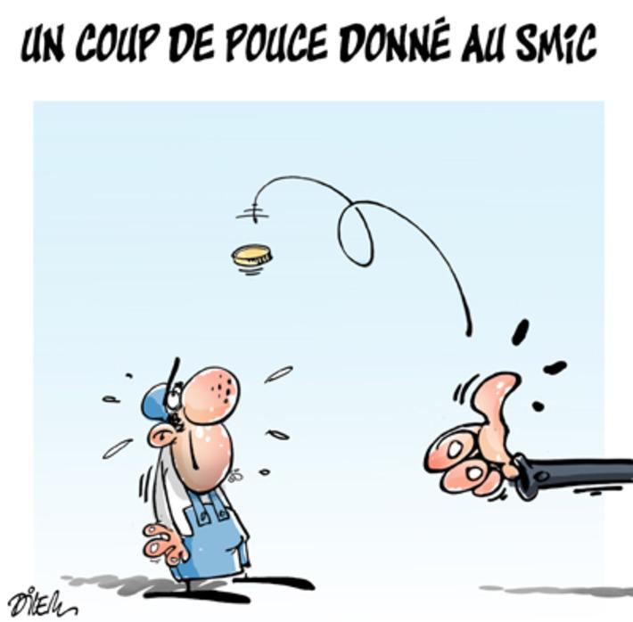 Un coup de pouce donné au Smic ! | Baie d'humour | Scoop.it