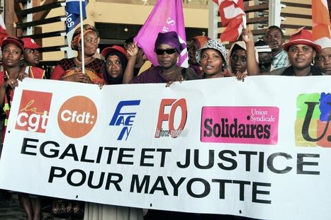 Mayotte : grève et blocages pour demander l'égalité des droits   Une méthode, un outil pour changer le monde.   Scoop.it