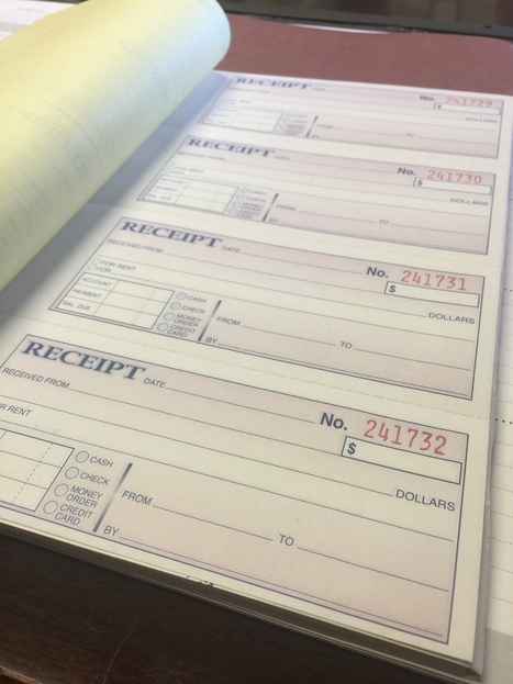 Always Get a Receipt: Proof of Payment | Domestic Relations | Scoop.it