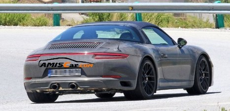 Prototype 991.2 GTS suns itself in Spain | AmisCar world of cars online | Scoop.it