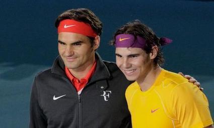 Federer-Nadal, un an après | Tennis , actualites et buzz avec fasto-sport.com | Scoop.it