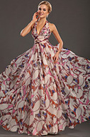 [RUB 3527,02] eDressit 2013 новое привлекательное ситцевое вечернее платье с бретелькой на шеи и глубоким V-деколь (00132668) | edressit collection | Scoop.it