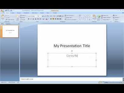 PowerPoint Presentation Tutorials for Students - YouTube | Mr. LesCallett's World History Scoop | Scoop.it
