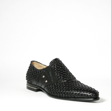 Cesare Paciotti Magic Baby Black Studded Loafers | Designer Mens Shoes | Scoop.it