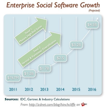 Enterprise 2.0 a bright spot for software in 2012 | ZDNet | The entrprise20coil | Scoop.it