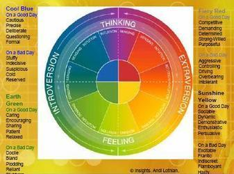 Color Wheel - Personality Styles | Marketing Ideas You Can Copy | Understanding DISC styles | Scoop.it