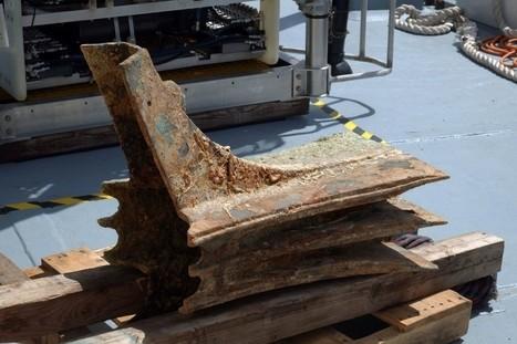 Egadas, recuperado un rostrum de una nave romana | Mundo Clásico | Scoop.it