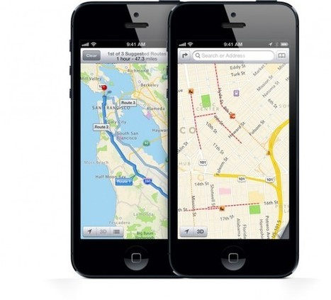 L'Iphone 5 si impreziosisce grazie a Google Maps! - Esperto Seo (Comunicati Stampa) | SEO ADDICTED!!! | Scoop.it