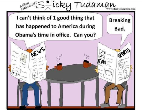 Sticky Tudaman: Breaking Bad | Political Humor | Scoop.it