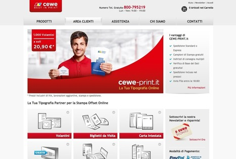 CEWE – nuovo player web-to-print - Pubblitec   Stampa on line   Scoop.it