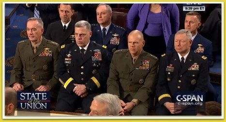 If Looks Could Kill… Military Brass Gives Obama Stone-Faced SOTU Stare-Down For Saying This… (Video) – BB4SP | Conservative Politics | Scoop.it