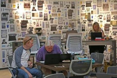 Inside Staples, a sunny co-working Workbar space | Collaborative, Productive and Innovative Workspaces | Scoop.it