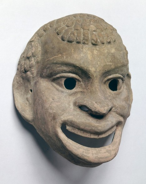 In Greek Theater, a Black Mask Plays an Important Role - The Root | Ancient Greece History | Scoop.it