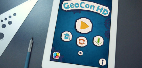 GeoCon Math iPad App: A Fun Way to Learn Plane Geometry | Math apps and Education | Scoop.it