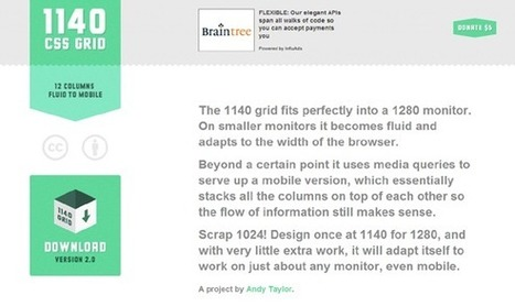 10 Useful Responsive CSS Frameworks For Designers | Web Revisions | Interesting Web | Scoop.it