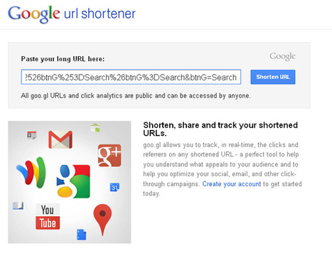 How to Make a Long Url a Short Url | 411 Locals | Google Maps for Beginners | Scoop.it
