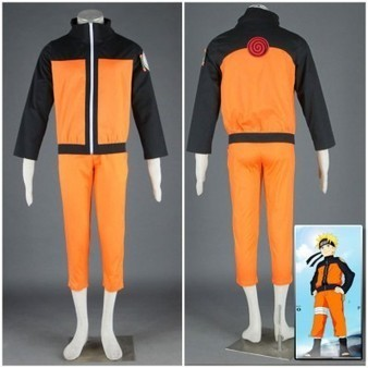 Anime Naruto Uzumaki Cosplay Costume For Mens Halloween Costume Party | Personalized Clothing | Scoop.it