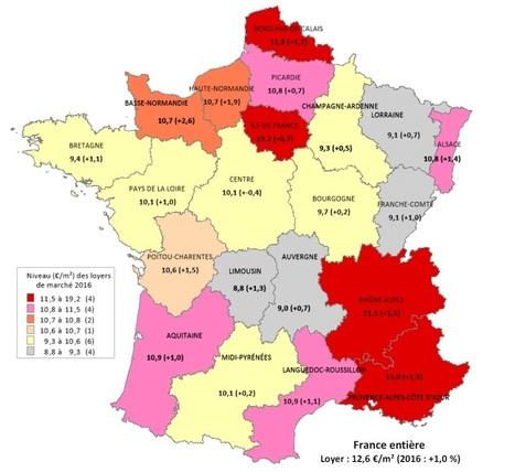 Location: un marché au top malgré des loyers en hausse | Projets urbains sur Bordeaux | Scoop.it