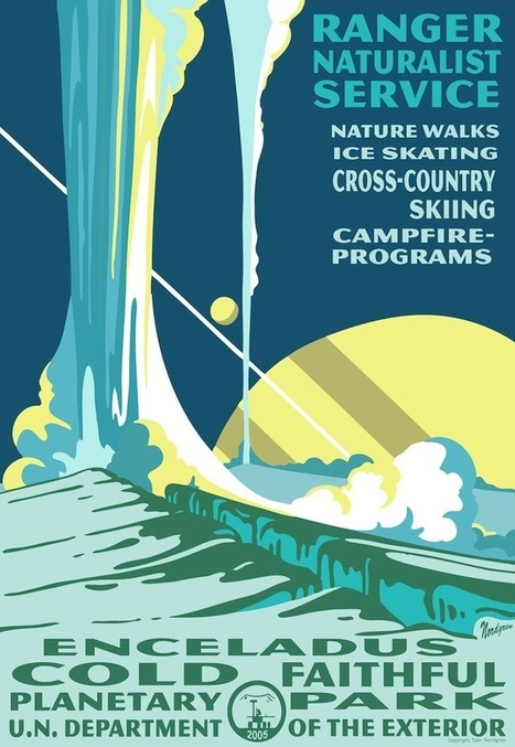 Visit National Parks on Other Planets With These Fantastic Posters | Wired Science | Common Core Online ELA | Scoop.it