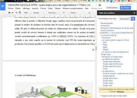"Add-on ""table des matières"" sur Gdoc 