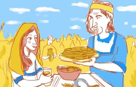 Lunch With Ruth and Boaz - Food | Jewish Education Around the World | Scoop.it