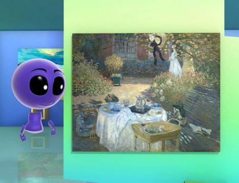 Le Déjeuner de Monet - Petits pas vers l'art | Arts et FLE | Scoop.it