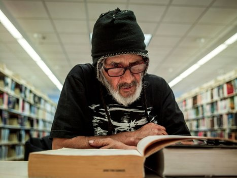 Portraits of homeless people using libraries | Library world, new trends, technologies | Scoop.it