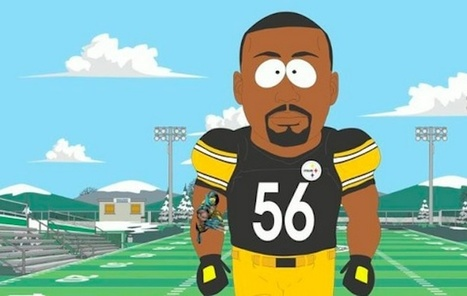 NFL Star Uses Facebook to Announce 'South Park' Appearance   Ad Vitam Basketball   Scoop.it