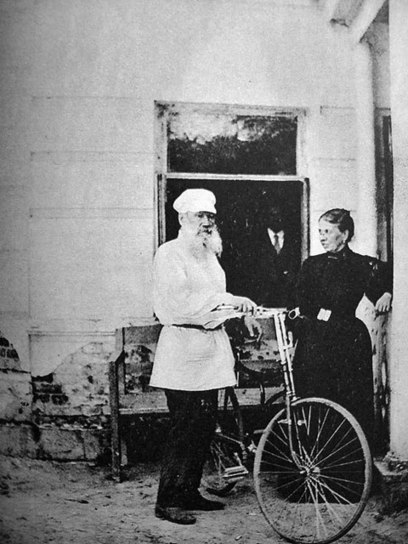 Famous authors riding their bicycles | Biblio | Scoop.it