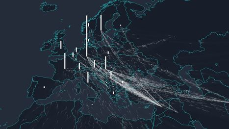 This is an astonishing visualisation of the refugee crisis | Archivance - Miscellanées | Scoop.it