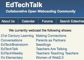 EdTechTalk | Collab Open Webcasting Community | Educators CPD Online | Scoop.it