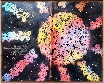 Art Journal: mandala radiante sobre fondo negro | Reflexiones-Quotes | Scoop.it