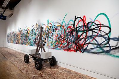 El arte del graffiti hecho por Robots (por Manuel Cosío) | CASSETTE ... | VIM | Scoop.it