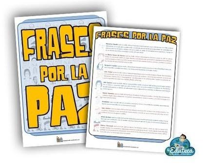 RECURSOS PRIMARIA   Frases por la paz<br/>Genial documento para trabajar la&hellip;   FOTOTECA INFANTIL   Scoop.it