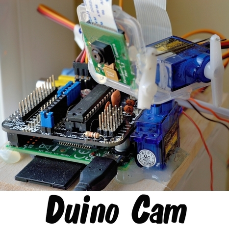 Twitter-controlled RasPiO Duino based Pan and Tilt, Tweeting, DropBoxing, Raspberry Pi Security Camera | Raspberry Pi | Scoop.it