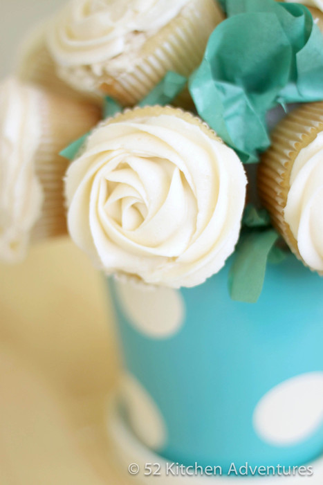 How to Make a Cupcake Bouquet | 52 Kitchen Adventures | Cupcake Magic | Scoop.it