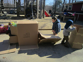 Playfully Learning: Box Play Outside | Early Years Education | Scoop.it