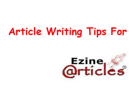 Article Writing Tips For EzineArticles – The Secrets Not Told | ELA | Scoop.it