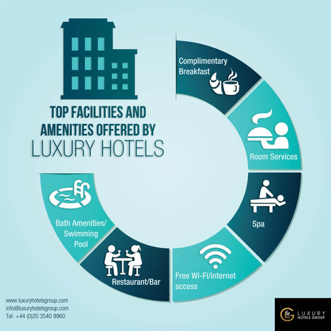 Luxury Hotels Group — Some main facilities offered by luxury hotels... | Hotels in the World | Scoop.it