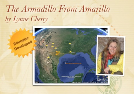 The Armadillo From Amarillo by Lynne Cherry | Google Lit Trips: Reading About Reading | Scoop.it