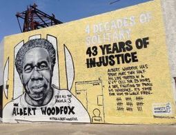 Albert Woodfox mural by artist-activist Brandan 'Bmike' Odums 0715 by Doug MacCash, Times-Picayune | Stop Mass Incarceration and Wrongful Convictions | Scoop.it