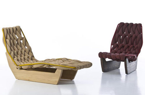 Biknit by Patricia Urquiola for Moroso   News from Italy about Design & 3D Graphic   Scoop.it