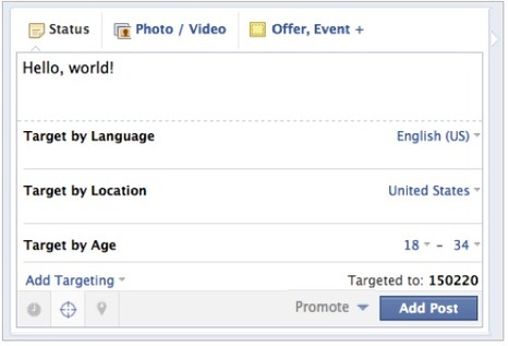Post Targeting is the Biggest Thing to Happen to Facebook in a Long Time | Trucs&Astuces : veille2.0 | Scoop.it