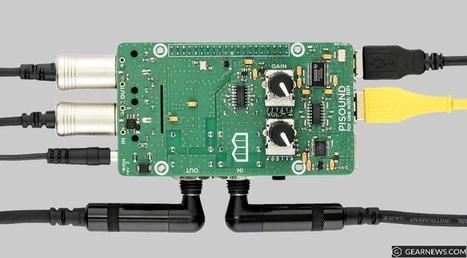 Beta Test a Raspberry Pi Low-Latency Audio and MIDI Interface - gearnews.com | Raspberry Pi | Scoop.it