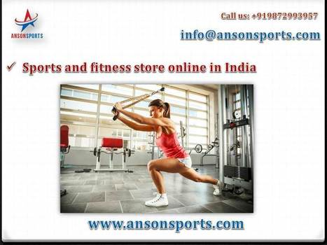 Anson Sports Gives Various Reasons to Buy Dumbbell Online in India | Fitness Equipment in India | Scoop.it
